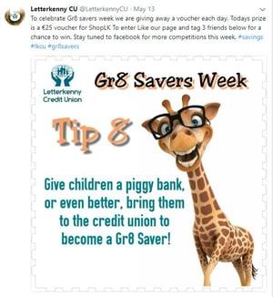 letterkenny credit union gr8 savers
