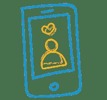 love in phone